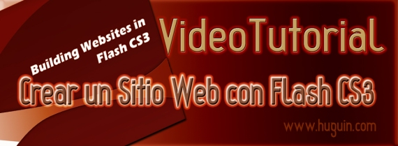 Crear website con flash cs3